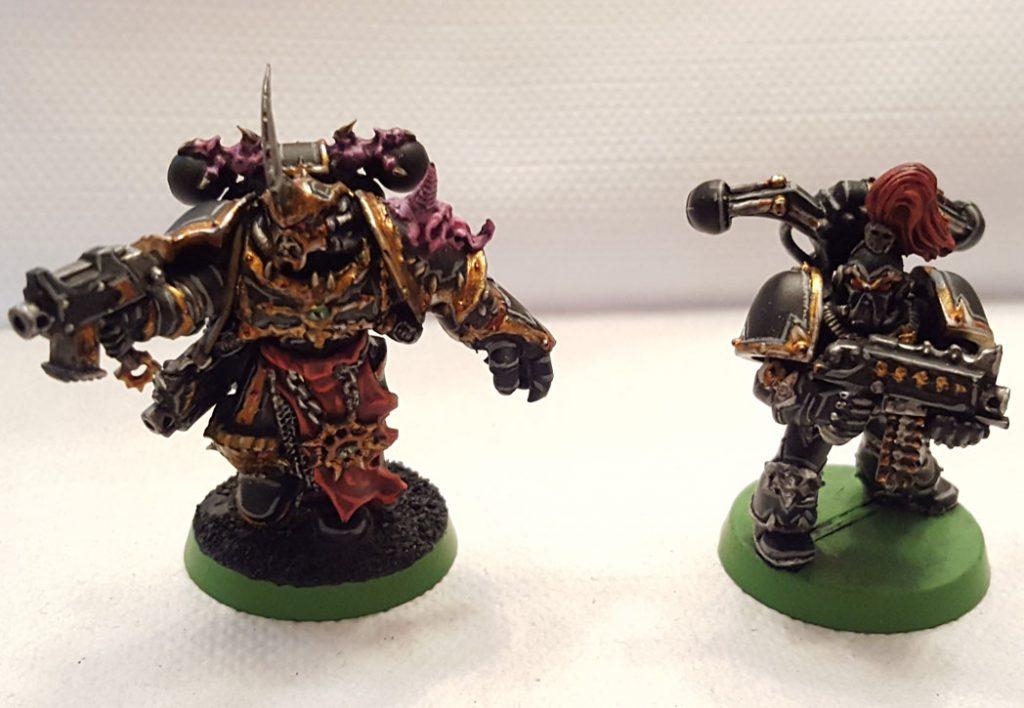 Black Legion, champion and old marine