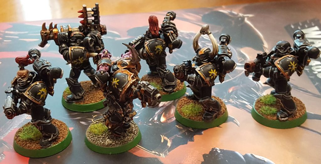 Done Black Legion squad, Black Legion icons